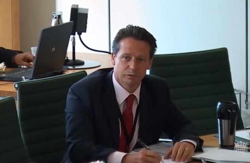 Nigel Huddleston, MP for Mid Worcestershire