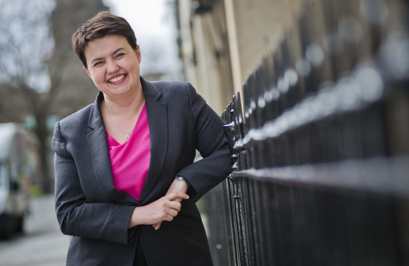 Ruth Davidson MSP, Leader of the Scottish Conservatives