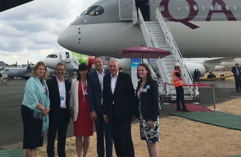 Business, Energy and Industrial Strategy Select Committee to visit aerospace manufacturing companies