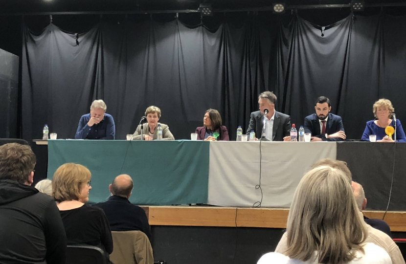 Anthea McIntyre at the Malvern Hustings