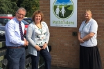 Mark Pawsey MP at Pathfinders Day Nursery in Rugby